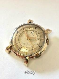 LeCOULTRE MEMOVOX MEN'S VINTAGE WRIST WATCH TO RESTORE OR FOR PARTS