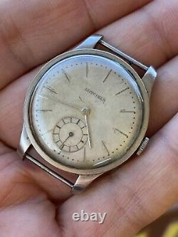 Longines Calatrava Cal 12.68Z Not Working For Parts Repair Rare Vintage Watch
