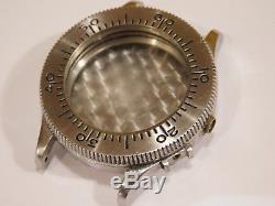 Longines Vintage Weems Pilots/navigators Wrist Watch Case. Offered For Parts