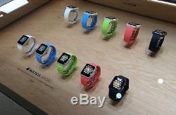 Lot 21 apple watch series 2 in demo mode good condition with bands