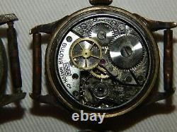 Lot Of 2 Bulova Military Watches 10ax & 10ba Not Working Parts Or Repair