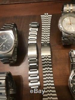 Lot Watch Montre Seiko Sport 150 100 Bracelet Quartz Pour Pieces For Part