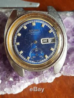 Lot Watches Seikos Chronograph 6139 For Parts