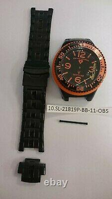 Lot of 10 Watches SWISS LEGEND and ToyWatch Damaged for spare parts