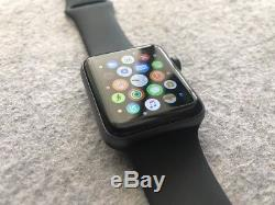 MINT DEMO Apple Watch Series 3 42mm Space Gray Case GPS + Cellular