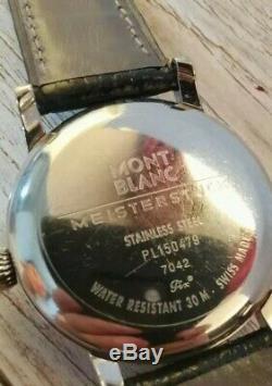 MONT BLANC Meisterstuck Stainless Steel Watch 7042 PL150479