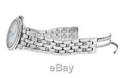 Men's Blancpain Leman Ultra Slim 2100-1127-11 Steel Date Watch Broken Buckle