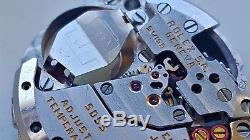 Men's Rolex Oyster-quartz Day Date Calibre 5055 11 Jewels Watch Movement Only