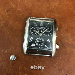 Mens Raymond Weil Geneve Tosca 4874 Stainless Chronograph Watch for parts