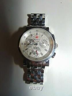 Michelle watch Stainless steel with diamonds MW01N00A0980 for parts only