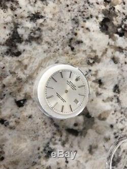 Mint Authentic Rolex Datejust White Dial Men's Watch For Part