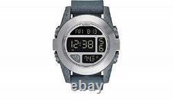 NEW DEFECTIVE Nixon Men's The Unit EXP Speckle Grey Watch A365-2056 DAMAGED BOX