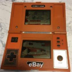 NINTENDO GAME & WATCH DONKEY KONG Multi Screen Orange GAME AND WATCH Junk Tested