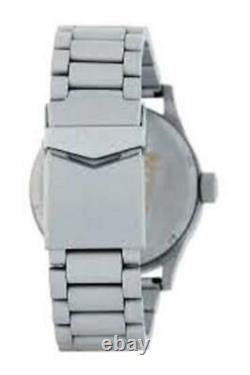 New $250 Nixon Mens Sentry SS X Primer Cerakote Watch A356-2339 DAMAGED BOX