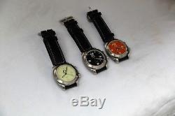 New Complete Anonimo Millemetri Trilogeo 3-pieces watch set 2 watches damaged