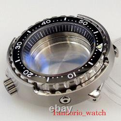 New Watch Part Fit For NH35A Skx007 Watch Case Sapphire Crystal 200m Resistance