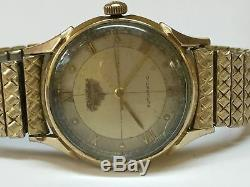 Nice Mens Vintage Longines Automatic Watch For Parts or Repair
