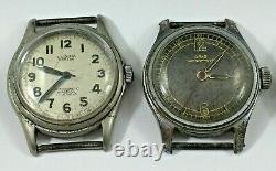 Nice Vintage Watches Job Lot Parts or Repair Lucina Oris Gruen Croton Pirate Etc