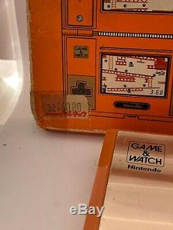 Nintendo Game And Watch Multi Screen Donkey Kong 1982 With Box BROKEN