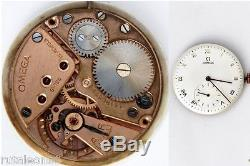OMEGA 30T2 PC original vintage watch movement working (1268)