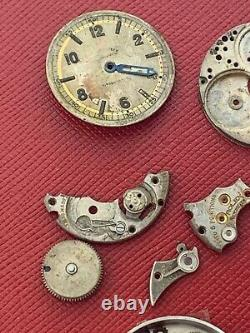 Old Rolex Observatory Wrist Watch Movement Parts Or For Restoration No Res