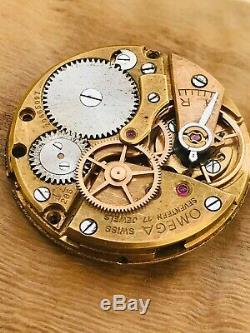 Omega 286 gents watch movement, -not work-for part -Restore