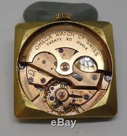 Omega 471 Movement Working 1956 Movimiento Omega 471 Funciona Crown Hands Dial