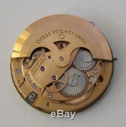 Omega 565 Movement Working + Dial 1970 Omega 565 Automatic / Movimiento y Esfera