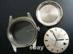 Omega Automatic Geneve Case Set Parts (case, 3 Needles, Stem & Crown)