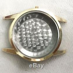 Omega Case Parts Gold Plated, Steel Case Back Ref 147004-61 Size 34mm Perfect