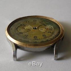 Omega Doctor's Chronograph / Omega 27 Chro T1 / Rare Omega CH27 Chronograph 1942