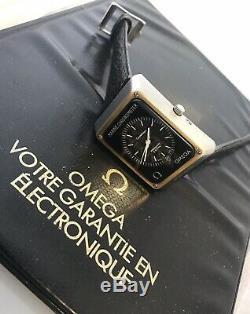 Omega Marine Chronometer Megaquartz Two Tone Constellation With Original Papers