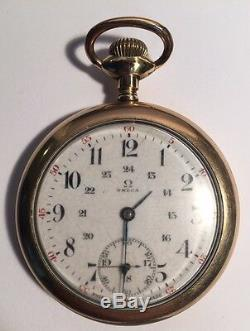 Omega Pocket Watch 15 Jewels Not Working