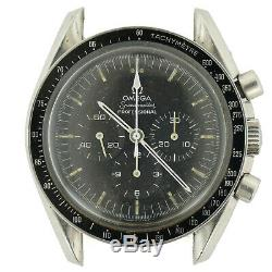 Omega Speedmaster Prof Chrono Stainless Steel Mens Watch Head For Parts/repairs