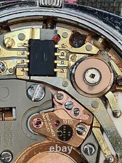 Omega Turler Men Watch Cal. 1310 Quartz Ref. 196.0066-for Parts/repair