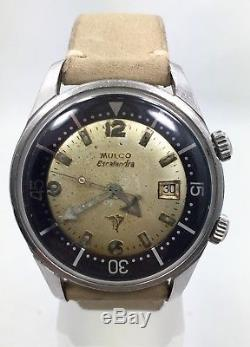 Original 42mm Mulco Escafandra Super Compressor Diver Watch