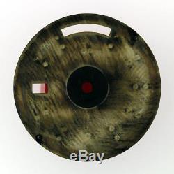 Original Men Rolex Day-Date 18238 18038 Gloss Black Stick Dial 18KY #W6