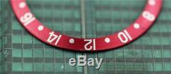 Original Men's Rolex GMT-MASTER II Black & Red Insert S/S 16700,16750,16760 #C15