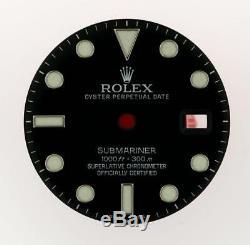 Original Men's Rolex Submariner 40mm Date 116610 Gloss Black Dial S/S #E25