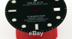 Original Men's Rolex Submariner Date Gloss Black Dial 16800 16610 S/S #A15