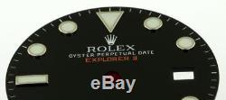 Original Mint Men's Rolex Explorer II 42mm Gloss Black Dial 216570 S/S #A12