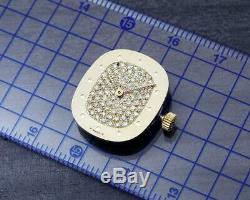 Original Patek Philippe Movement- 18K Diamond Dial- Hands- Crown / Cal 16-250