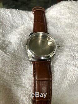 Original Rolex 1500 Case With Cristal Crown Strap And Buckle
