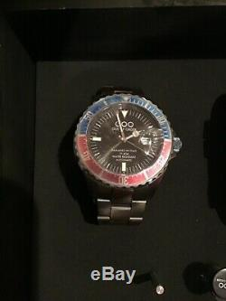 Out of Order (OOO) Pepsi Red Blue Bezel Men's Automatic Watch DAMAGED IN ITALY