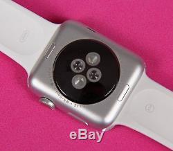 PLEASE READ Apple Watch Series 3 42mm Silver & White (GPS + LTE)