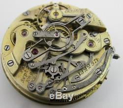 Pocket Movement 14s timing & repeating Watch Co. For project or parts. OF