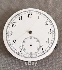 Pocket Watch Quarter Repeater Chronograph Not Working For Parts