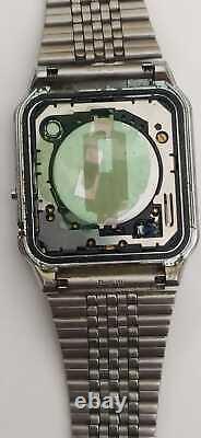 RARE Vintage 1984 Casio CA-502 Digital Calculator Watch Module 437 working