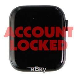 READ DESC Apple Watch Series 4 (A1976) GPS+LTE 44mm Space Gray Aluminum