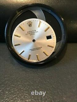 ROLEX 1503, 1500, 1501 Silver Dial Genuine Watch Part for Date Perpetual Rolex